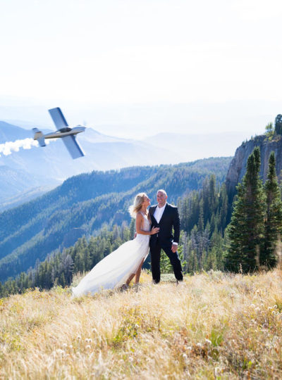 Cliff Side Air Show Wedding